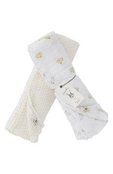 Petit Pehr Chick Swaddle Blanket Set, Size One Size - Ivory