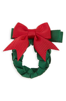 Milledeux Wreath Hair Clip, Size One Size - Red