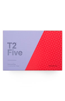 T2 Tea Five Famous Fives Loose Leaf Tea Box Set, Size One Size - Black