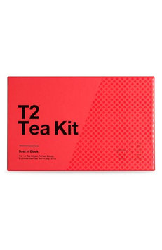 T2 Tea Best In Black Loose Leaf Tea Box Set, Size One Size - Red