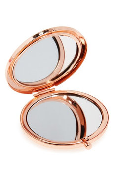 Skinnydip Skinny Dip Ditsy Rose Gold Mirror, Size One Size - No Color