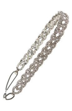 Tasha Jewelry Junkie Head Wrap, Size One Size - Black