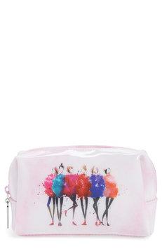 Catseye London Watercolor Women Cosmetics Case, Size One Size - Pink