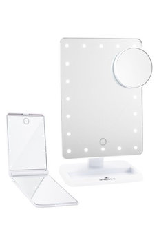 Impressions Vanity Co. Touch Xl Dimmable Led Makeup Mirror With Removable 5X Mirror & Compact Mirror, Size One Size - White