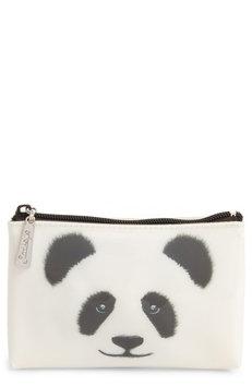 Catseye London Big Face Panda Cosmetics Case, Size One Size - Big Face Panda