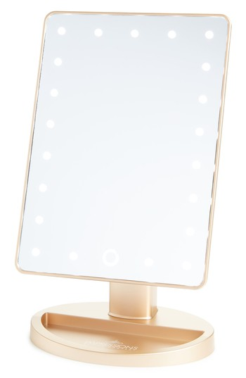 Impressions Vanity Co. Touch 2.0 Dimmable Led Vanity Mirror, Size One Size - Matte Champagne Gold