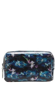 Catseye London Night Blooms Cosmetics Bag, Size One Size - Black