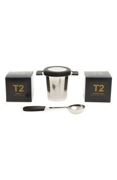 T2 Tea Little Bit Luxe Loose Leaf Tea Box Set, Size One Size - Black