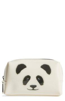 Catseye London Monochrome Panda Cosmetics Case, Size One Size - Panda