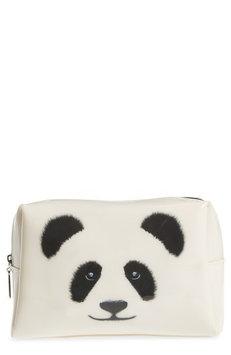 Catseye London Big Face Panda Large Cosmetics Case, Size One Size - Panda