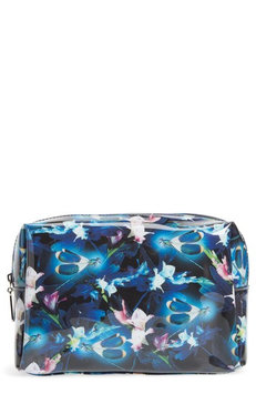 Catseye London Large Night Blooms Beauty Bag, Size One Size - Black