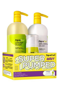 Devacurl Super Pumped Wavy Hair Care Kit, Size One Size