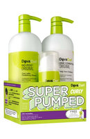Devacurl Super Pumped Curly Hair Care Kit, Size One Size