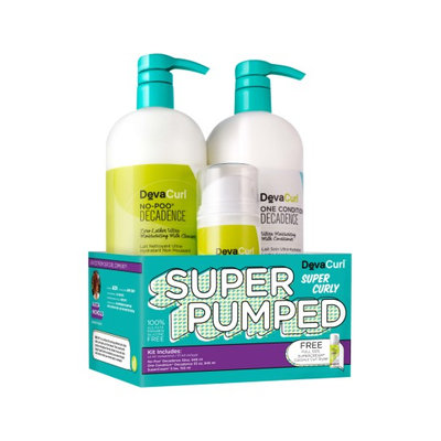 Devacurl Super Pumped Super Curly Hair Care Kit, Size One Size
