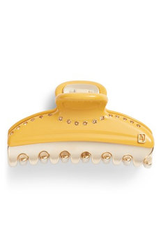 Alexandre De Paris Vendome Hair Clip, Size One Size - Yellow