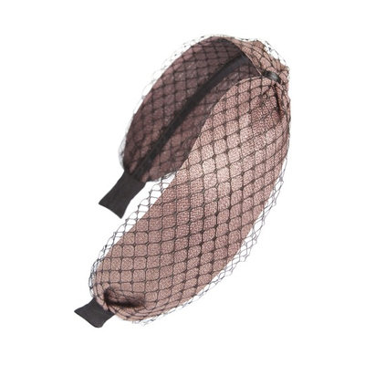 Cara Mesh Headband, Size One Size - Brown