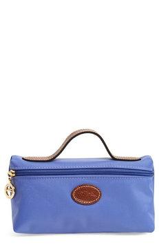 Longchamp 'Le Pliage' Pouchette, Size One Size - Lavender