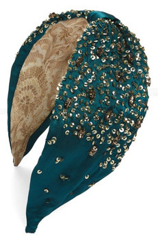 New Friends Colony Empress Headband, Size One Size - Green
