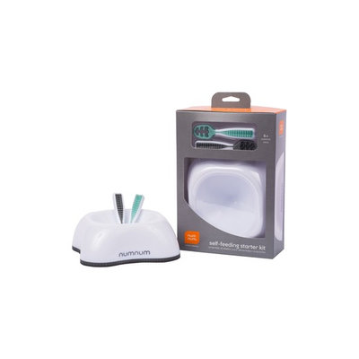 Infant Numnum Self-Feeding Starter Kit, Size One Size - Grey