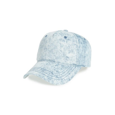 The Accessory Collective Denim Cap, Size One Size - Blue