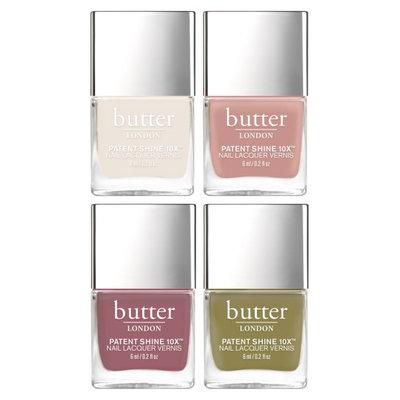 Butter London Royal Garden Nail Laquer Set - No Color