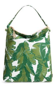 Infant Logan And Lenora Waterproof Hobo Bag - Green