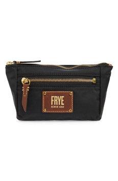 Frye Ivy Cosmetics Case, Size One Size - Black