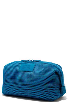 Dagne Dover Large Hunter Neoprene Toiletry Bag, Size One Size - Pacific Air Mesh