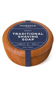 Murdock London Sandalwood Shave Soap in Wood Bowl