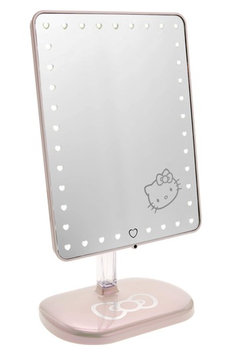 Impressions Vanity Co. Hello Kitty Edition Touch Pro Led Makeup Mirror With Bluetooth Audio & Speakerphone, Size One Size - Pearl White