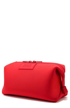 Dagne Dover Large Hunter Neoprene Toiletry Bag, Size One Size - Poppy