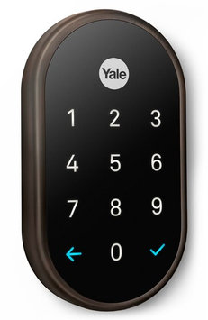 Nest X Yale Passcode Deadbolt Lock, Size One Size - Brown