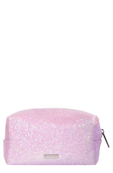 Skinnydip Skinny Dip Pink Glitsy Cosmetics Case, Size One Size - No Color