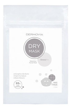 Dermovia Lace Your Face Dry Stressfix Waterless Facial Mask