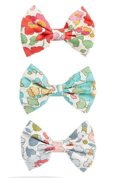 Milledeux Betsy 3-Piece Bows Hair Clip Set, Size One Size - Green