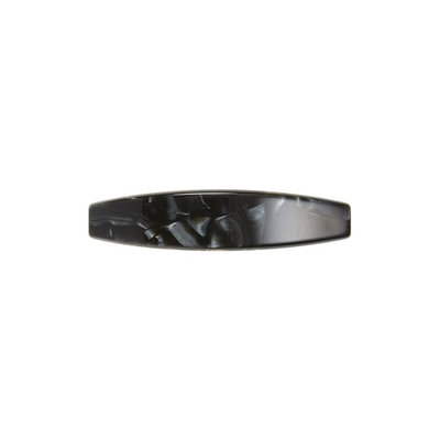 France Luxe Oblong Barrette, Size One Size - Black