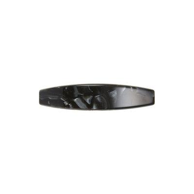France Luxe Oblong Barrette, Size One Size - Black