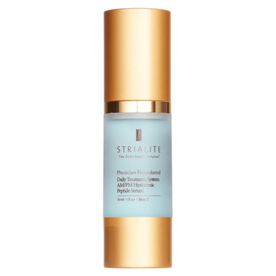 Strialite The Stretchmark Solution(TM) Daily Treatment System Am/pm Hyaluronic Peptide Serum, Size 1 oz