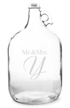 Cathys Concepts Cathy's Concepts Mr. & Mrs. Wedding Wishes In a Bottle Jar ()