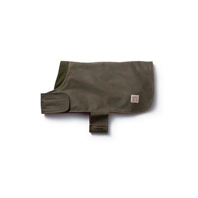 Filson Shelter Cloth Dog Coat Otter Green
