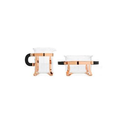 Bodum Chambord Copper Collection Sugar and Creamer Set