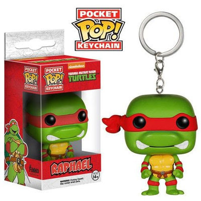 Funko TMNT Raphael Pocket Pop! Key Chain Vinyl Figure