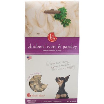 Fetch For Pets Bistro Bites Small Treats-Chicken Livers & Parsley