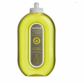 Method Squirt & Mop Hard Floor Cleaner with Surface Safe, Non-Toxic & Plant-Based, Lemon Ginger Scent - 25 Fl Oz