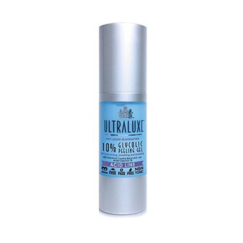 Ultraluxe Anti-Aging Rejuvenating 10% Glycolic Peeling Gel,1 Ounce