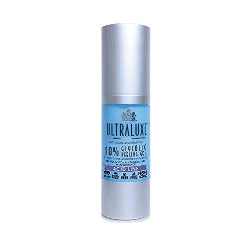 Ultraluxe Anti-Aging Rejuvenating 10% Glycolic Peeling Gel,1 Ounce