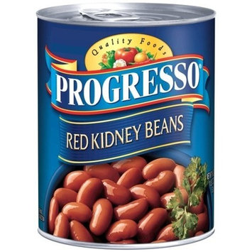 Progresso Dark Red Kidney Beans 19 oz Pull-Top Can 2(pack of 4)