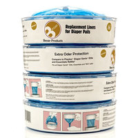 Diaper Genie Refill Bags - 280 Count, Up to 1 Month Supply of Diaper Pail Liners - By Besser Products inc