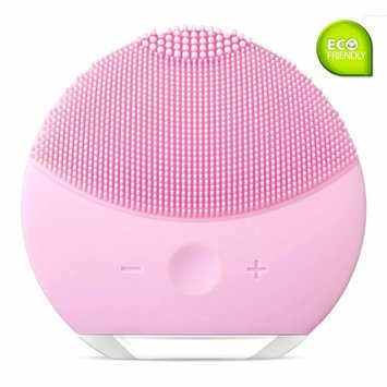 Facial Cleansing Brush - Silicone Vibrating Waterproof Rechargeable Facial Cleanser and Massager, Deep Exfoliator and Reduce Acne, Multifunctional Anti-Aging Skin Device