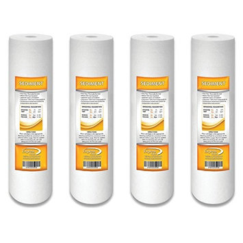 Express Water 1 Micron Sediment Water Filter Cartridge for Reverse Osmosis RO 10